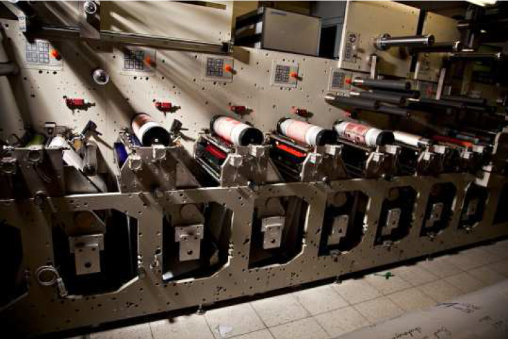 Maszyna drukarska flekso Gidue 280